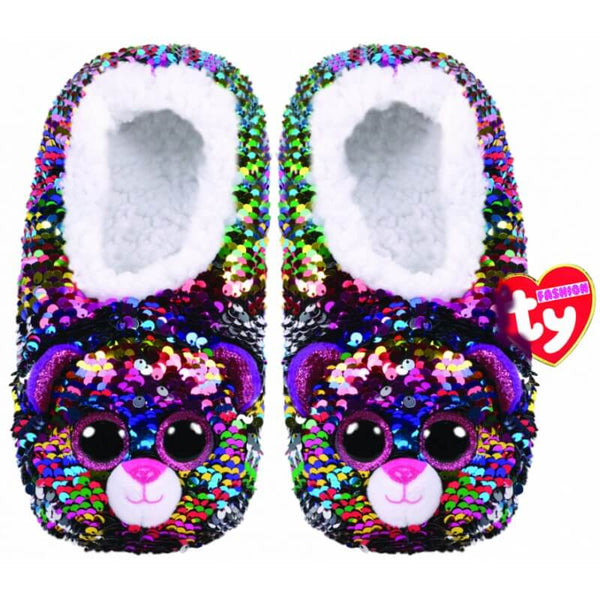 Ty Fashion Sequin Slipper Socks- Assorted