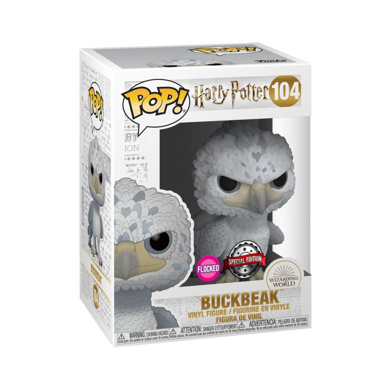 Harry Potter - Buckbeak US Exclusive Flocked Pop! Vinyl [RS]