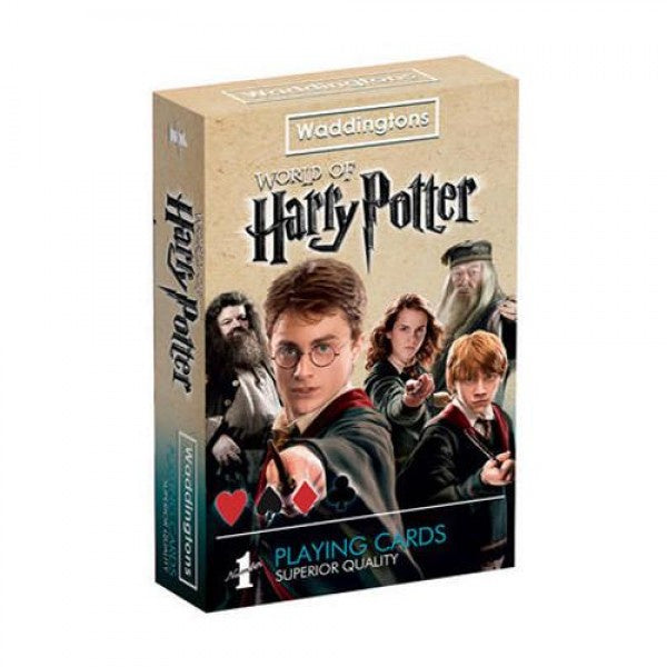 Harry Potter Waddingtons Waterproof Playing Cards