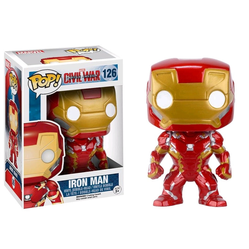 Captain America 3: Civil War - Iron Man Pop! Vinyl