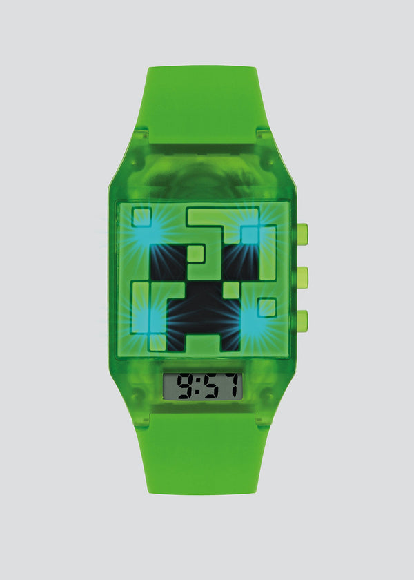 Minecraft Digital Light Up Watch