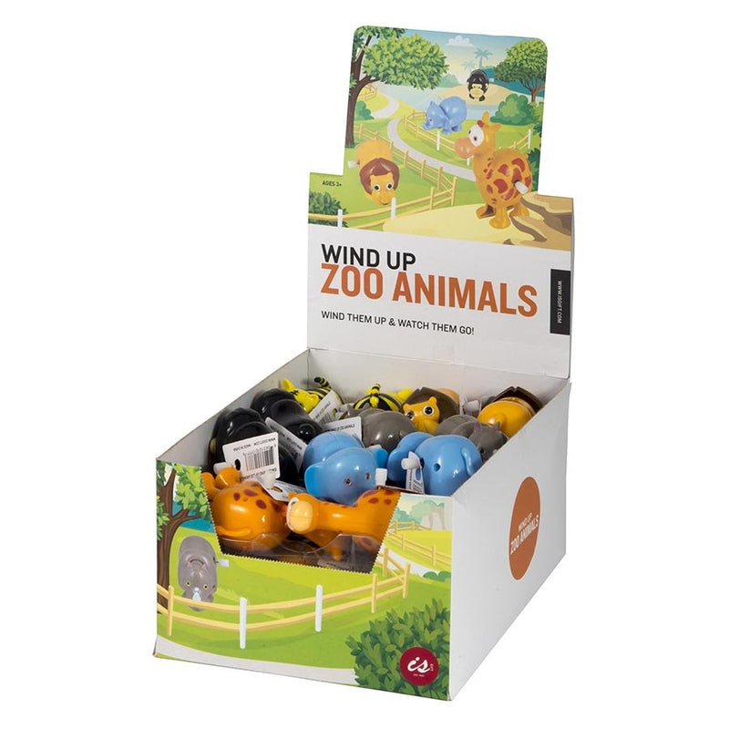 IS GIFT Wind Up Zoo Animals