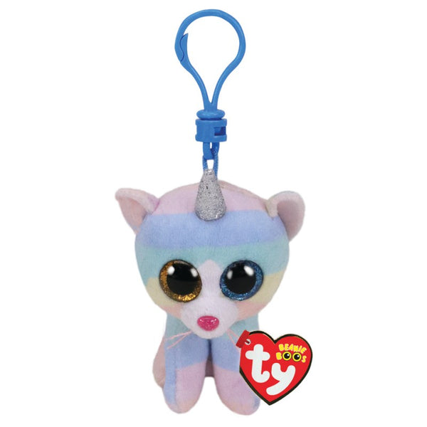 Beanie Boo Clip Heather Cat W Horn