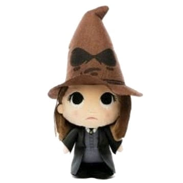 Harry Potter - Hermione with Sorting Hat SuperCute Plush