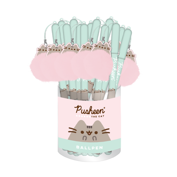 PUSHEEN SWEET DREAMS BALLPEN WITH POM POM DANGLER