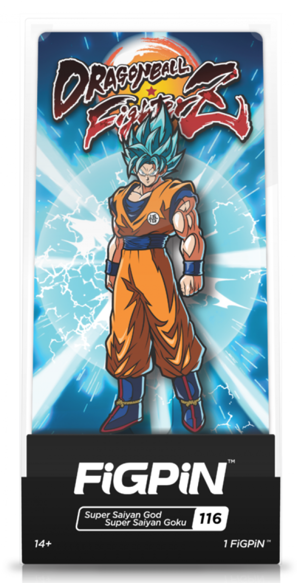 Dragon Ball Z - FigPin - SSGSS Goku