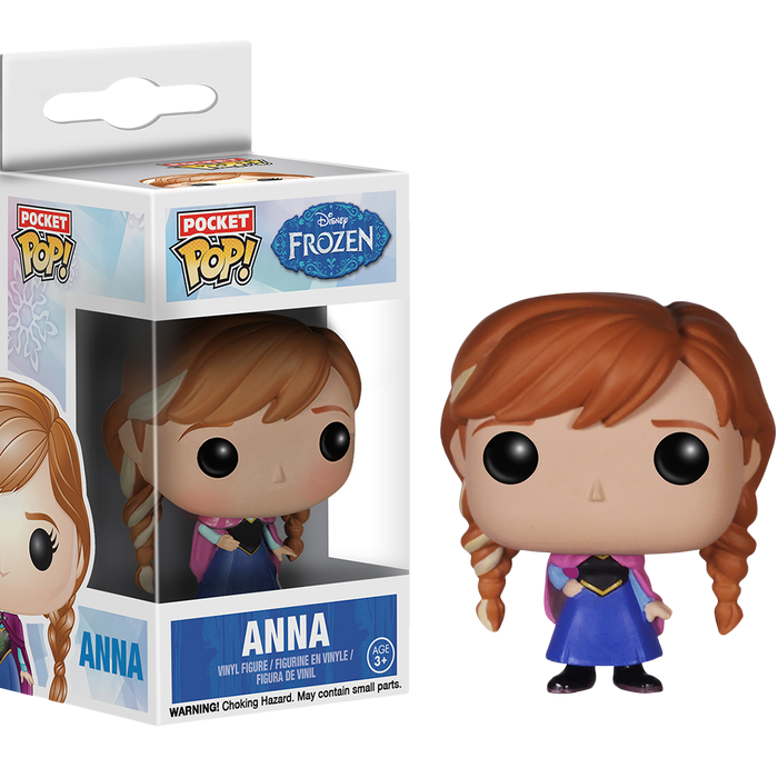 Frozen - Anna Pocket Pop! Vinyl