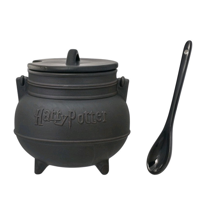 Harry Potter - Cauldron with Soup Mug & Lid with Spoon