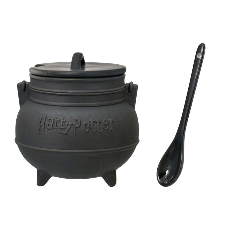 Harry Potter - Cauldron Soup Mug with Lid and Spoon