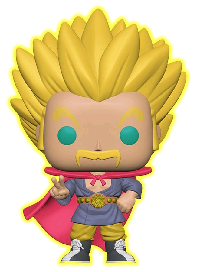 Dragon Ball Super - Super Saiyan Hercule Glow US Exclusive Pop! Vinyl [RS]