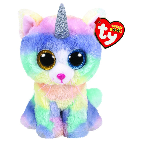 Beanie Boos Reg Heather Cat W/Horn