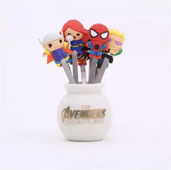 Avengers Fruit Fork Set