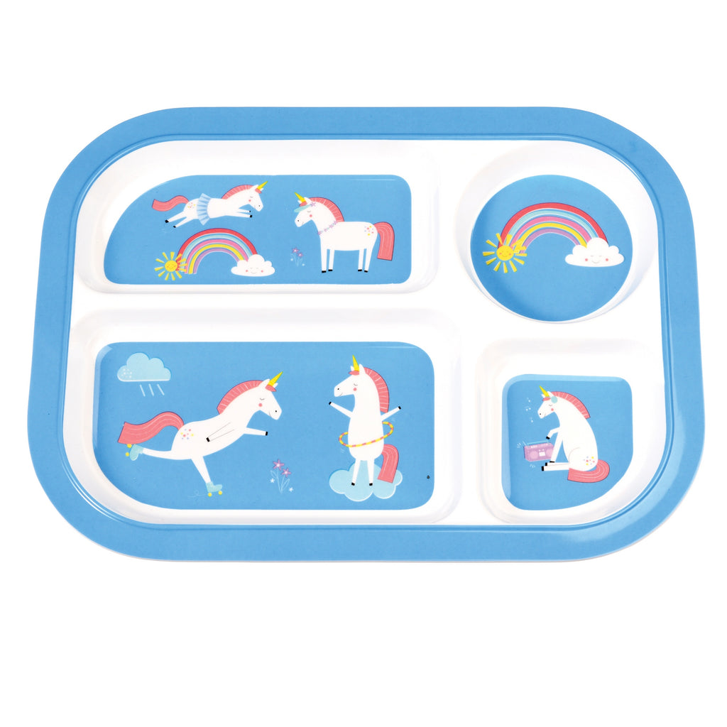 Divided Tray - Unicorn