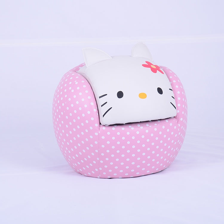 Hello Kitty Chair with Ottoman (HLD/HK03)