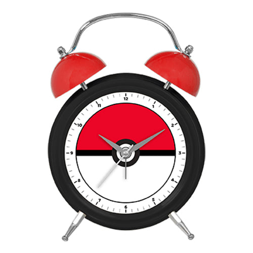 POKE BALL TWIN BELL CLOCK
