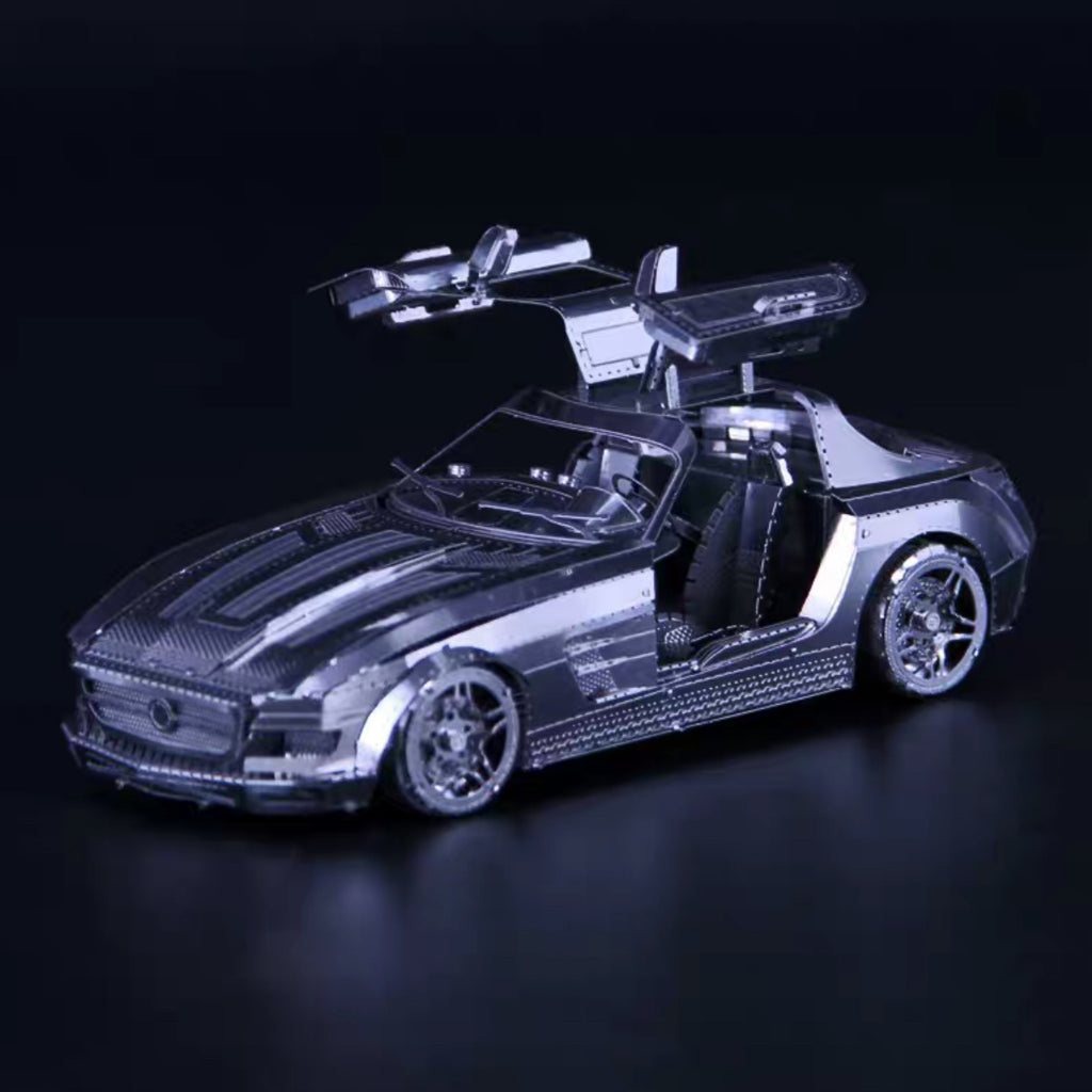 3D Metal Model - Gull Wing