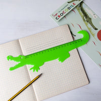 Plastic Ruler - Crocodile