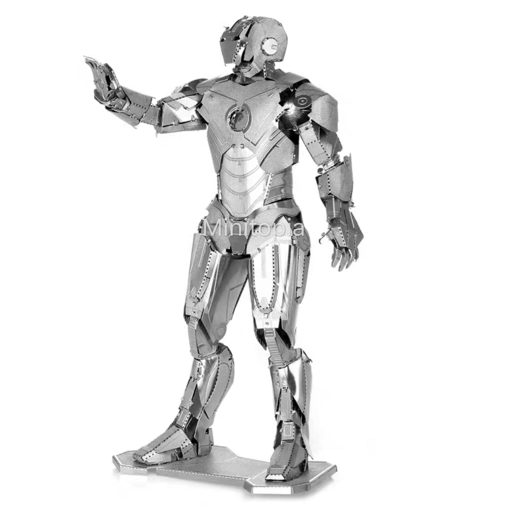3D Metal Model - Ironman