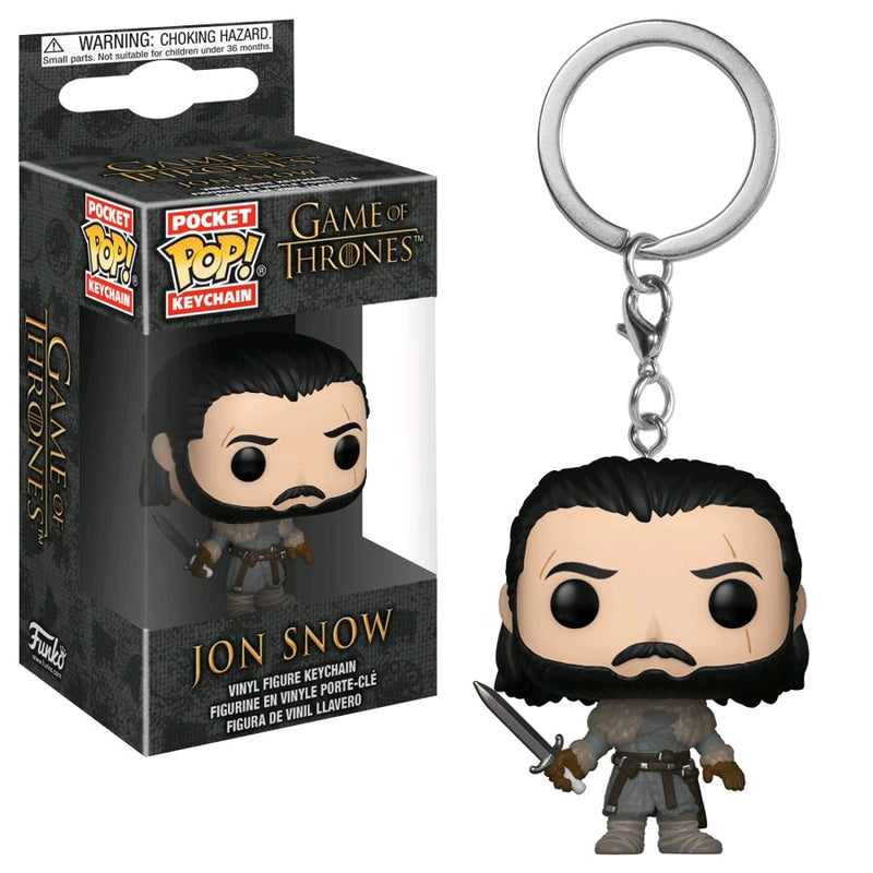 Game of Thrones - Jon Snow (Beyond) Pocket Pop! Keychain