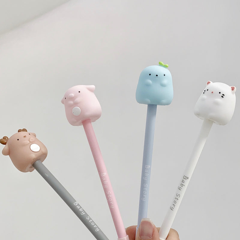 Pen with Cute Animal Topper