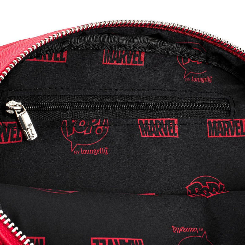 Spider-Man Pin Collector Crossbody Bag with Pin