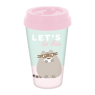 Simply Pusheen Travel Mug 'Let's Do This'
