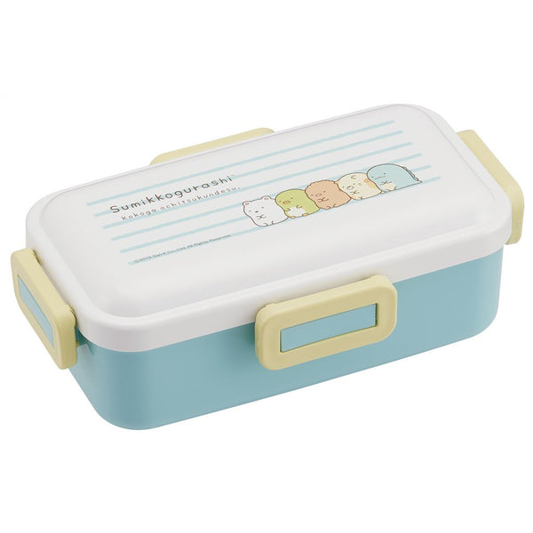 Sumikko Gurashi 4 Side Lock Bento Box | Stripes