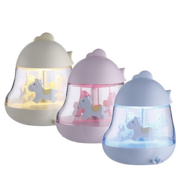 Cute Chick Carousel Music LED Lamp