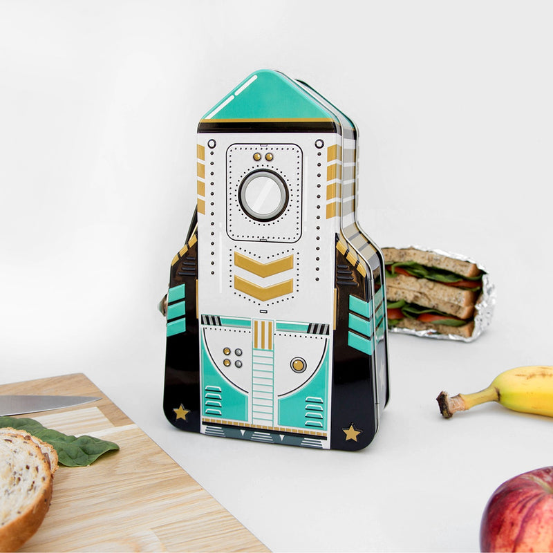 Rocket Lunch Box Green