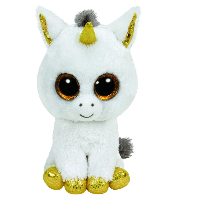 Beanie Boos - Pegasus The White Unicorn - Large