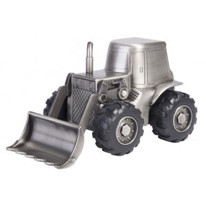 PEWTER TRACTOR MONEYBANK
