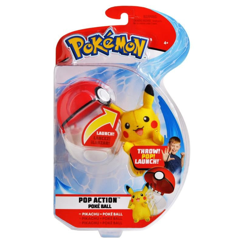 Pokemon Pop Action Poke' Ball - Wave 1- Assorted