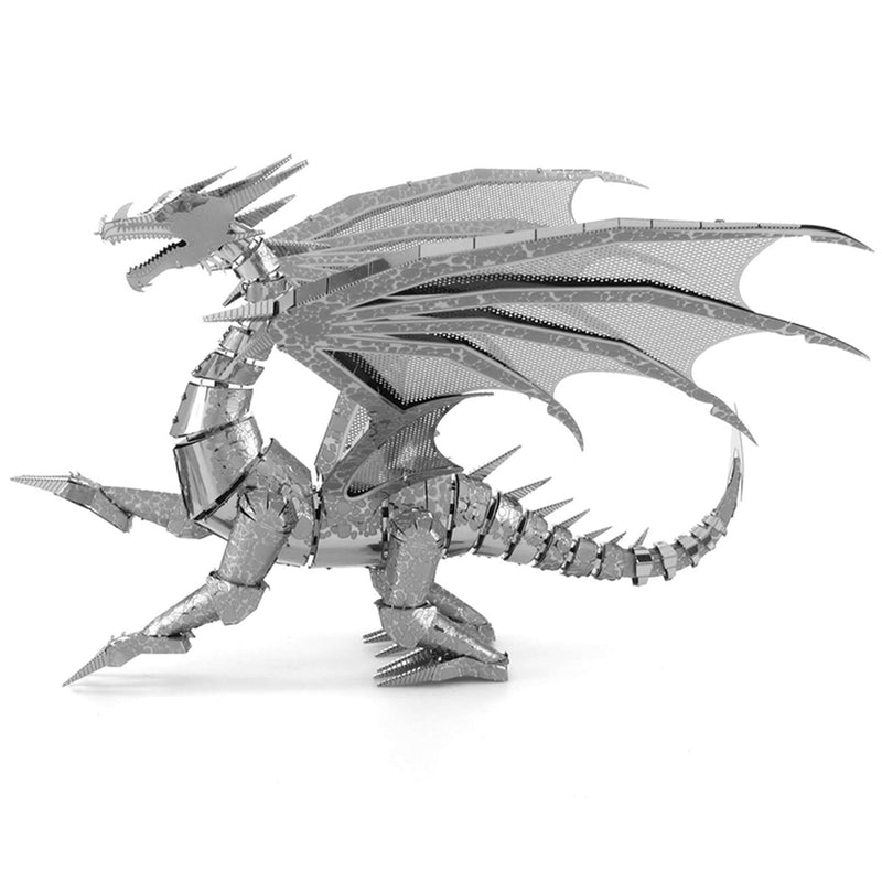 3D Metal Model - Dragon