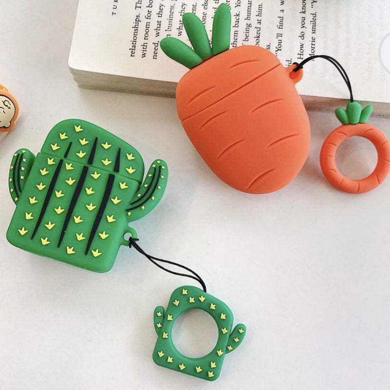 AirPod Silicon Case - Cactus