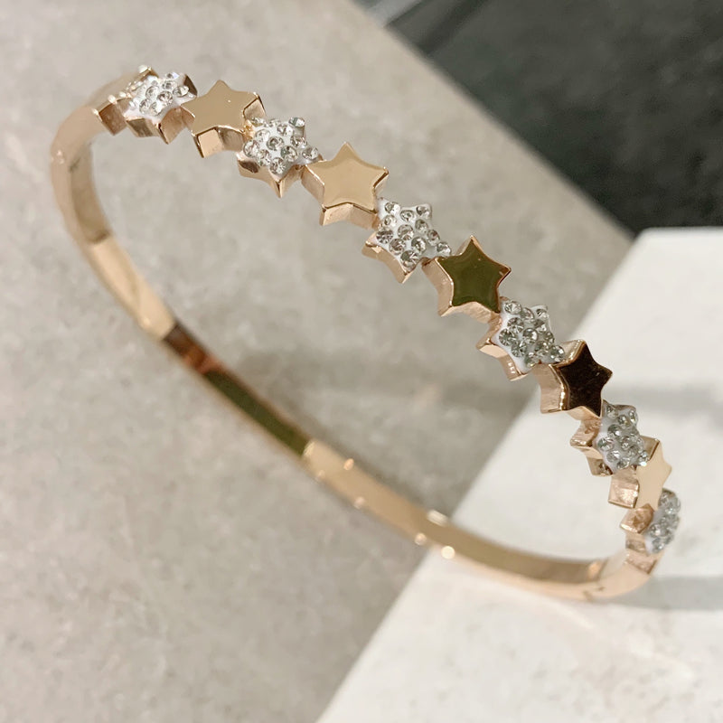 Crystal Stars Bangle