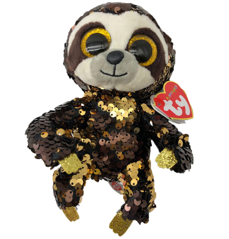 Beanie Boos Medium Sequins - Dangler Sloth