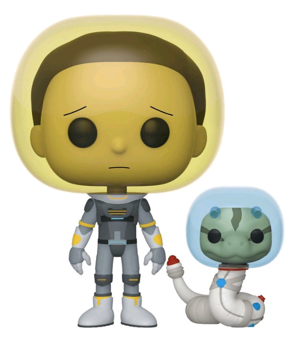 Rick and Morty - Morty Space Suit with Snake Pop! Vinyl