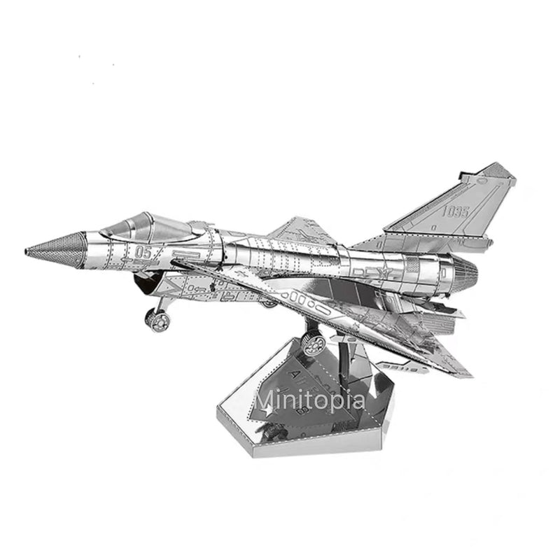 3D Metal Model - J-10 Firebird