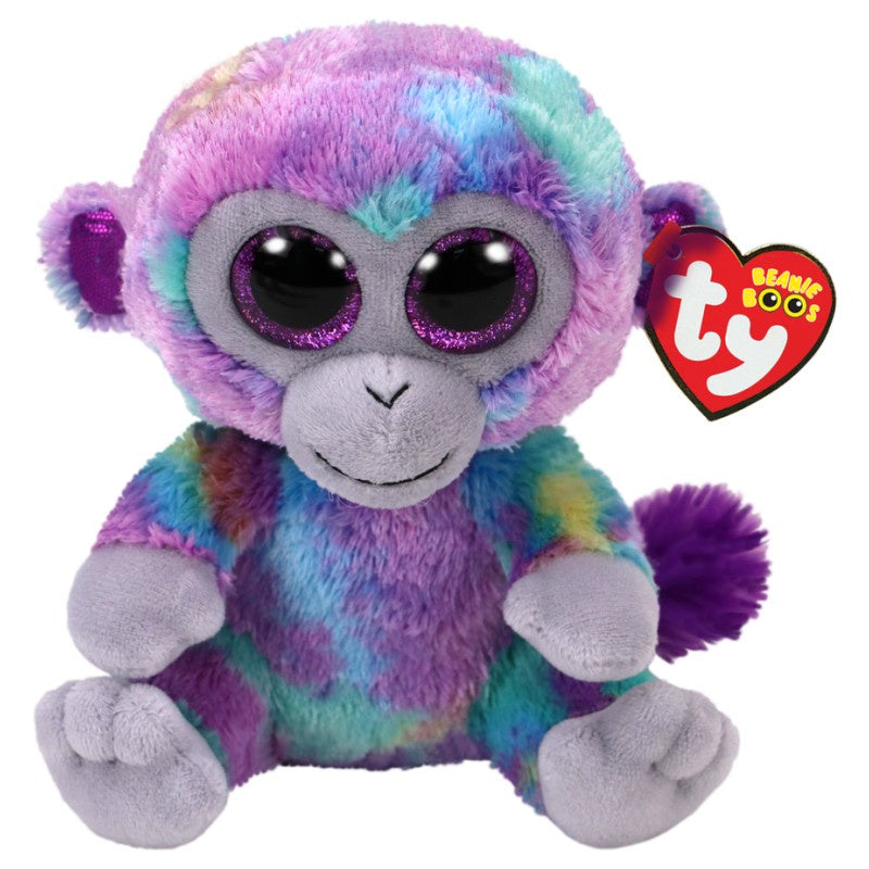 Beanie Boos Medium Zuri Multi Monkey