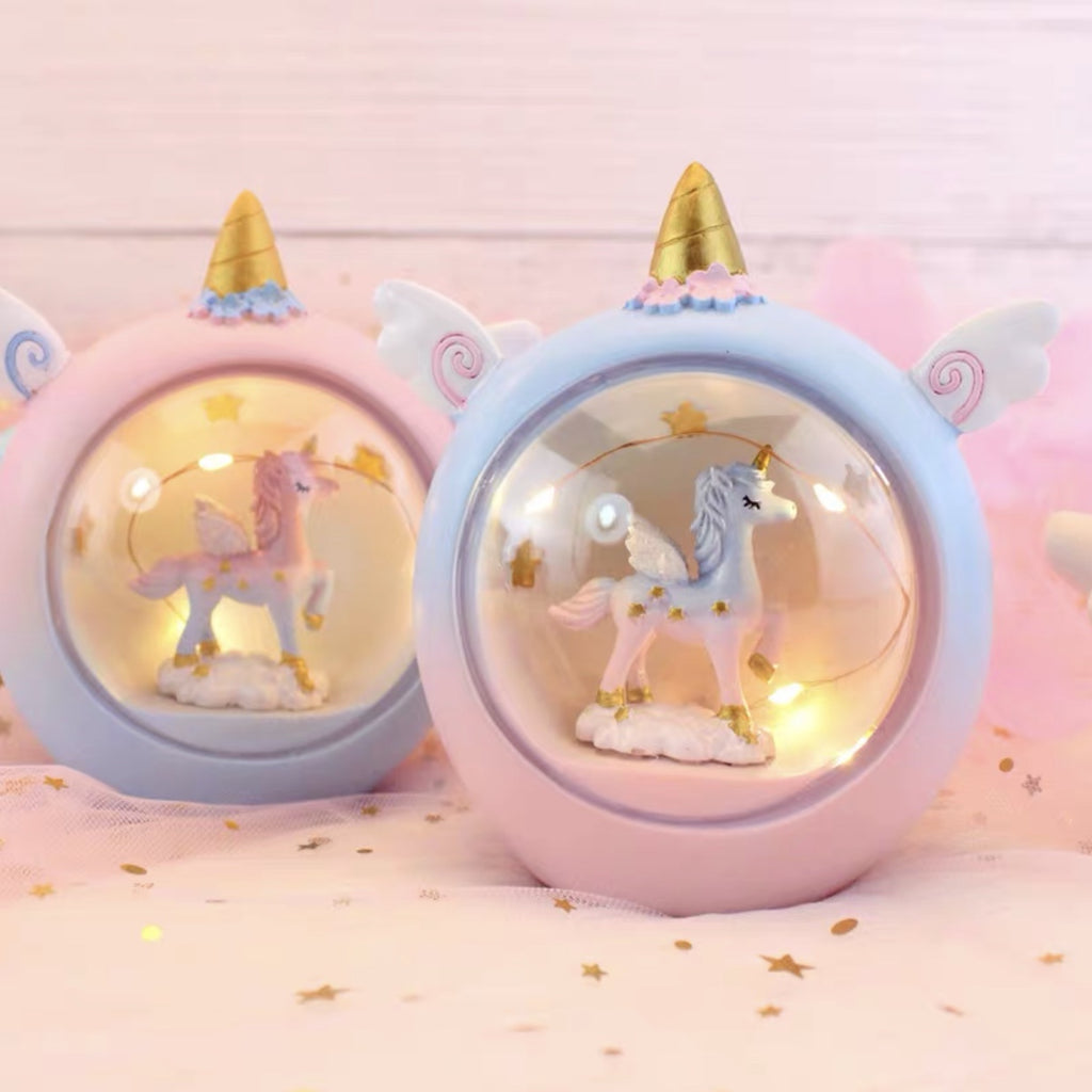 Unicorn LED Egg Lamp