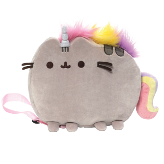 PUSHEEN PLUSH BACKPACK: PUSHEENICORN