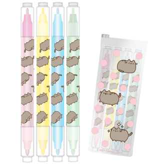 Pusheen Eraser and Highlighter Set