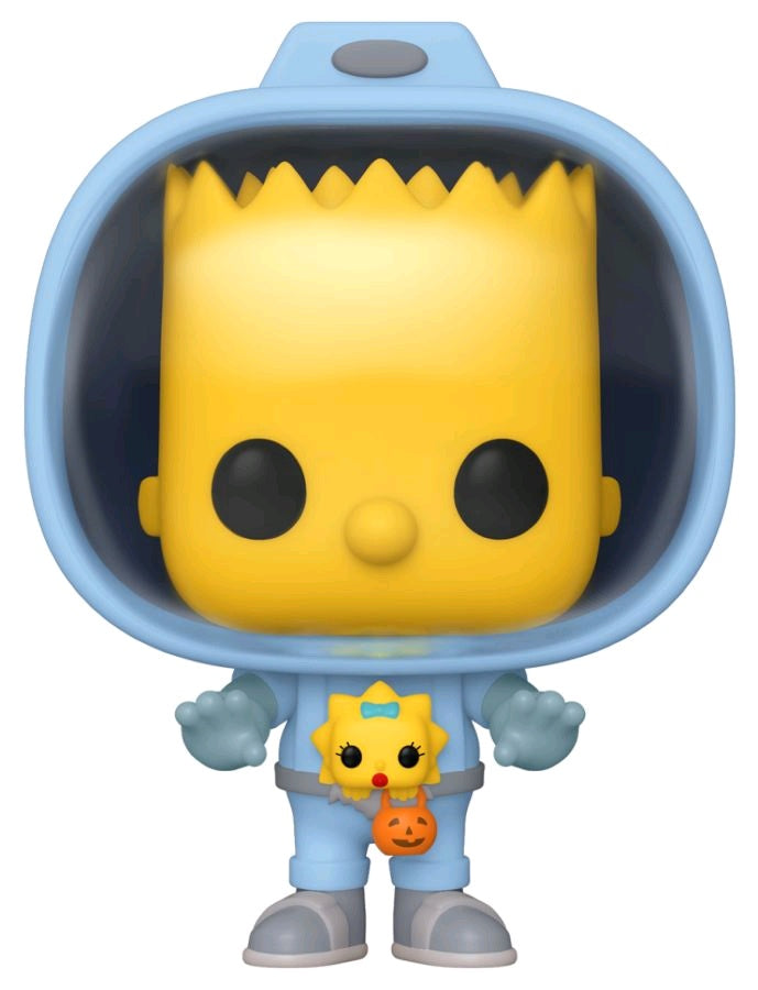 The Simpsons - Bart with Chestburster Maggie Pop! Vinyl