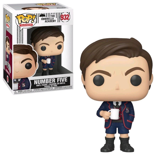 Umbrella Academy - Number Five (with Chase) Pop! Vinyl