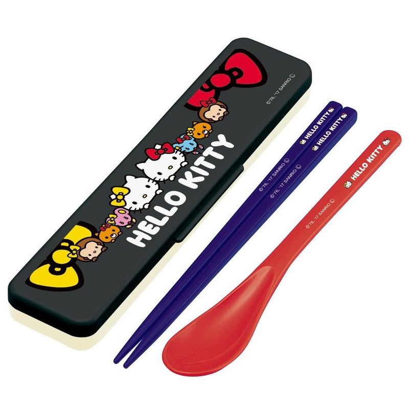 Hello Kitty Mimmy Chopsticks and Spoon Set