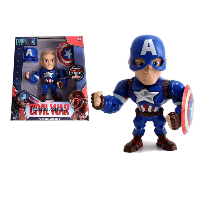 "Captain America 3: Civil War - Captain America 6"" Metals Wave 1"