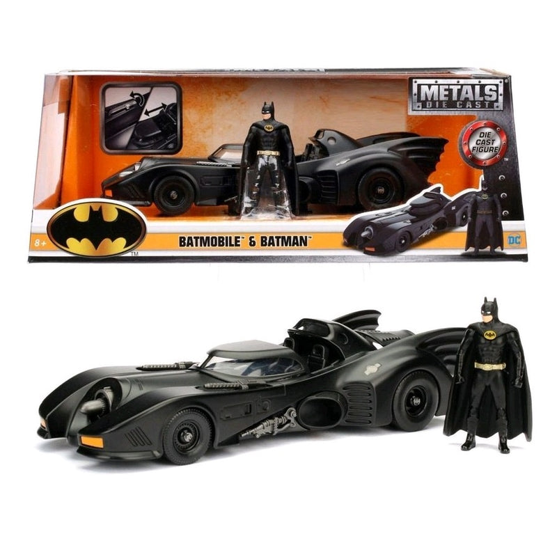 Batman - Batmobile 1989 1:24 with Batman