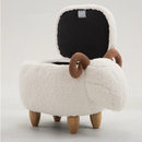 Sheep Footstool with Storage