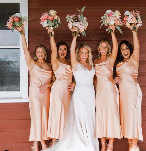 Cheap Spaghetti Strap Long Bridesmaid Dresses ,Bridesmaid Dresses EW0217