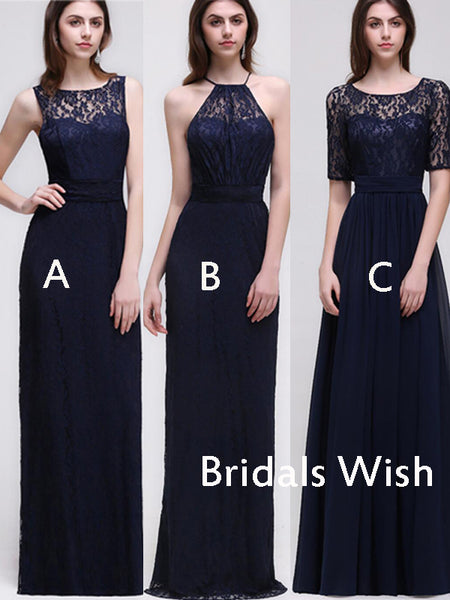 Cheap Sleeveless &Half-Sleeves Long Bridesmaid Dresses , Bridesmaid Dresses EW0212